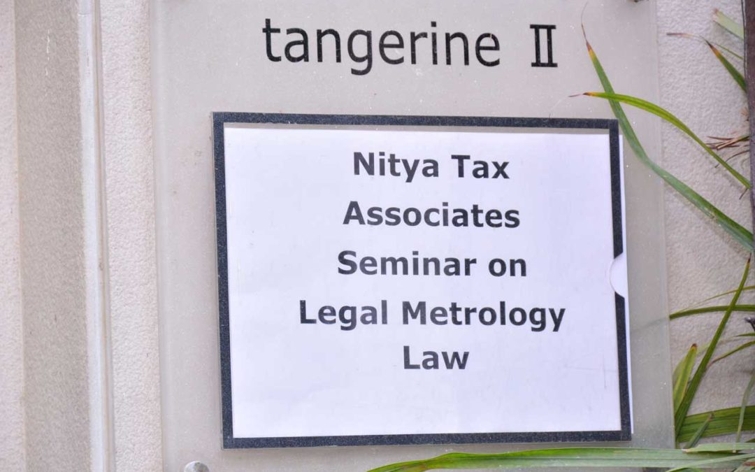 NITYA Seminar on Legal Metrology Law