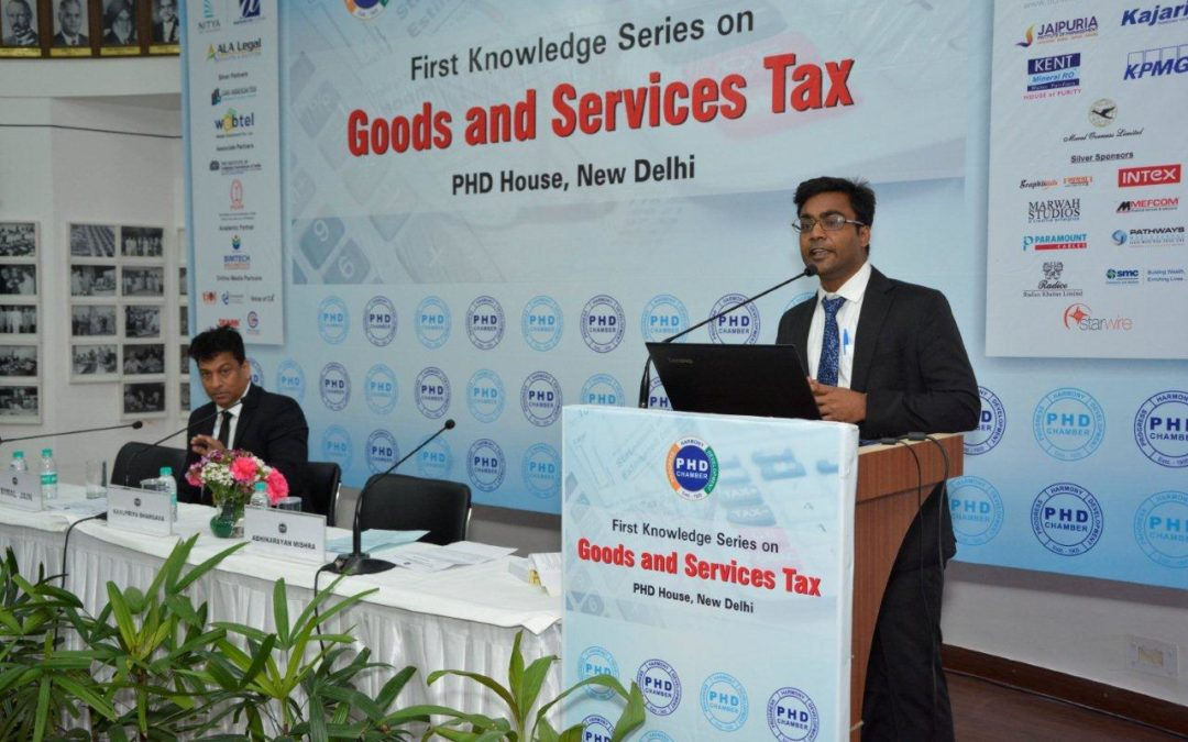 PHD First Knowledge Series on GST By Rajat Mittal