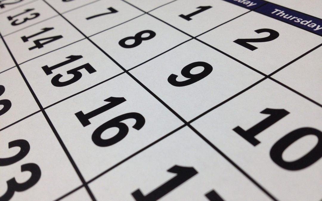 Compliance Calendar | August 2020