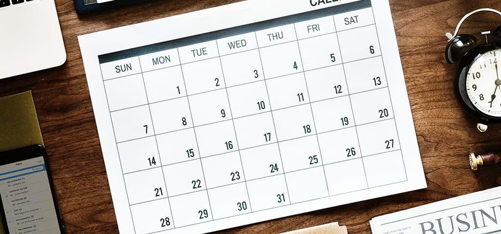 Compliance Calendar | September 2020