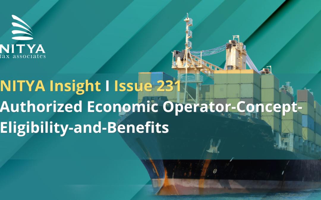 Authorized Economic Operator-Concept-Eligibility-and-Benefits